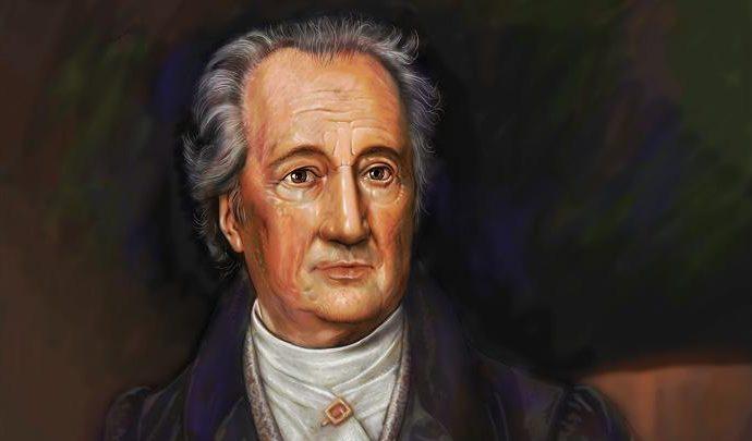 Johann Wolfgang von Goethe یوهان ولفگانگ فون گوته