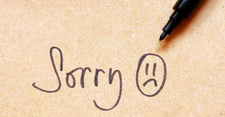 عذر خواهی و روش صحیح آن